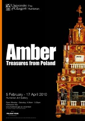 Amber – Treasures from Poland – plakat