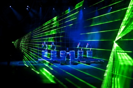 Magic Malbork – pokaz laserowy